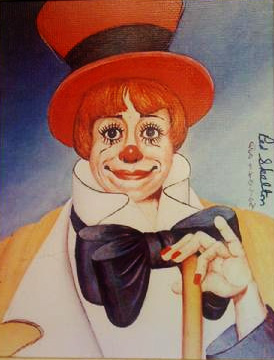 Prints on Canvas, The Fine Art of Red Skelton
